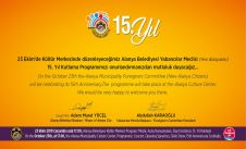 Resident Foreigners (Yeni Alanyalılar) will celebrate their 15th years