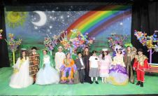 ´KALBİMİN SEVGİLİ GÖZÜ´ staged by special children, received great applause from the citizens of Bursa.